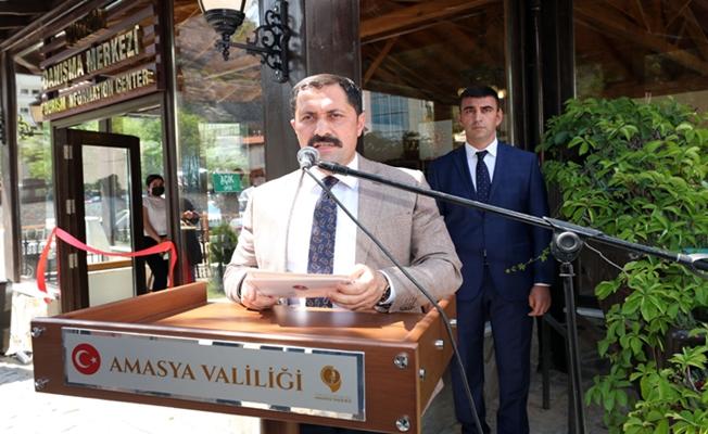 Vali Masatlı, Turizm Danışma Ofisini Amasya Turizminin Hizmetine Açtı