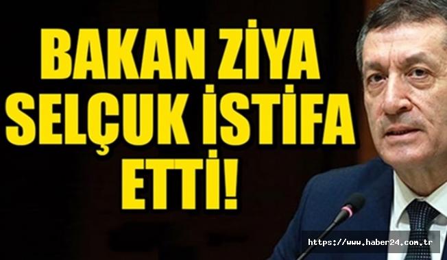 Milli Eğitim Bakanı Ziya Selçuk istifa etti|Yeni Milli Eğitim Bakanı kim?