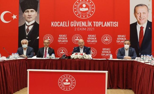 İçişleri Bakanı Soylu Kocaeli'ye geldi!