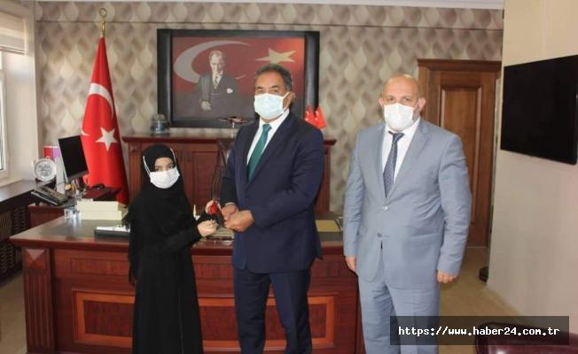 Kur'an-ı Kerim'i Güzel Okuma Yarışması Türkiye birincisi Kocaeli'den