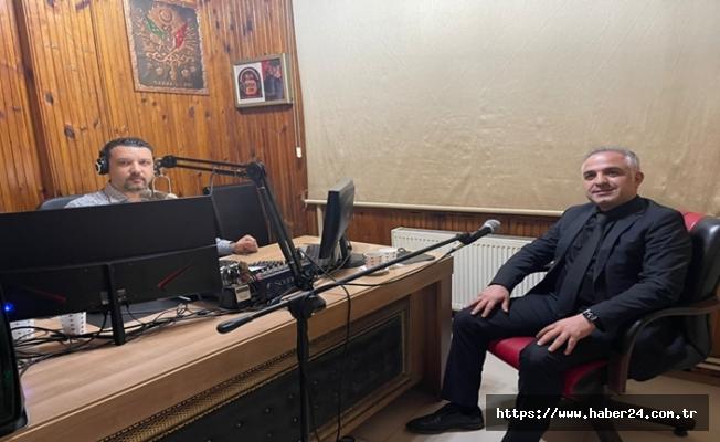 Tapu Müdürü Ekrem Kumuşoğlu Gencer'e konuk oldu