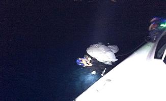 Ayvalık açıklarında düzensiz göçmenler kurtarıldı