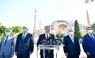 Vali Yerlikaya, Ayasofya Camii'nin Açılışına İlişkin Alınan Tedbirleri Açıkladı