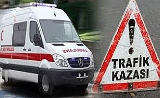 Yolcu otobüsü şarampole uçtu:31 yaralı
