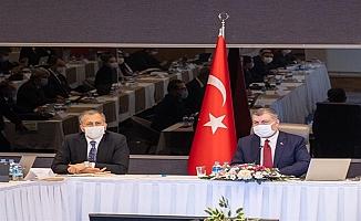 İstanbul'da Yürütülen Pandemi ile Mücadele Çalışmaları Değerlendirildi