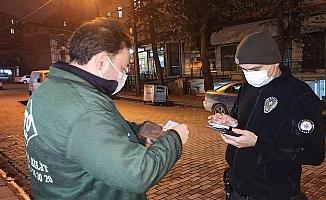 Kocaeli'de Yasaklara uymayan 263 kişiye para cezası !