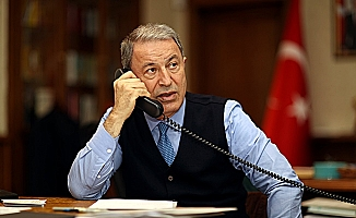 Millî Savunma Bakanı Hulusi Akar,Wallace İle Telefon Görüşmesi Yaptı