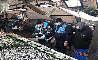 Ümraniye'de balıkçı tezgahlarına sıkı denetim