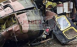 Son Dakika..Bitlis'te askeri helikopter düştü