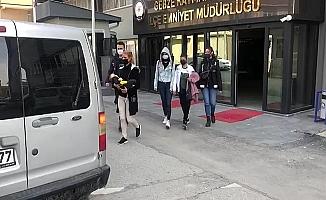 Evlere dadanan suç makinesi hırsızlar yakalandı