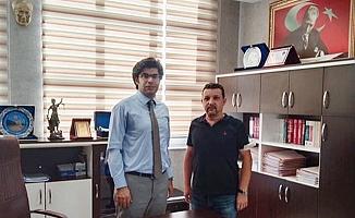 Gencer'den Başsavcı Vekili Mehmet Akif Sarı'ya hayırlı olsun ziyareti