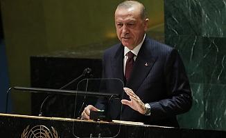 Recep Tayyip Erdoğan BM Genel Kuruluna hitap etti