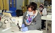 Avcılar Halk Eğitimi Merkezi, maske üretimine başladı