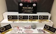 Kocaeli'de yapılan uyuşturucu operasyonunda 9 kişi yakalandı