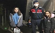 Ordu'da Gülyalı jandarma çocukları mutlu etti