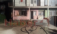 Kocaeli'de iki katlı evde çıkan yangın korkuttu!