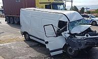 Kocaeli'de zincirleme kaza!5 yaralı