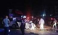 Otomobil ile TIR çarpıştı :2 ölü