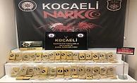 Kocaeli'de Yolcu otobüsünden  30 kilo 800 gram eroin ele geçirildi