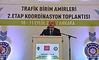 Trafik Birim Amirleri 2. Etap Koordinasyon toplantısı gerçekleştirildi