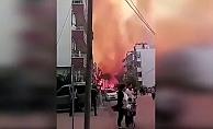 Hatay'da çıkan yangın evlere sıçradı!