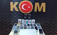 Kocaeli'de 26 adet kaçak telefon ele geçirildi!