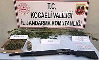Kocaeli Jandarma Komutanlığından uyuşturucu operasyonu!