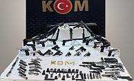 Kocaeli'de büyük silah kaçakçılığı operasyonu ! 24 gözaltı
