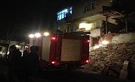 İki katlı evde çıkan yangın korkuttu!