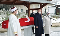 Cumhurbaşkanı Erdoğan, Sosyolog Prof. Dr. Nur Vergin'in cenaze törenine katıldı