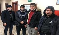 İtalya'ya gitmeye çalışan 4 kaçak göçmen yakalandı!