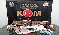 Kütahya'da bin 65 adet kaçak cinsel içerikli ürün ele geçirildi