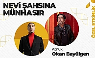 Üsküdar'da Okan Bayülgen'den söyleşi rüzgarı