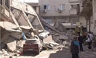 Zeytinburnu'nda 5 katlı bir bina çöktü!
