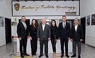 Mugiad başkana gitti