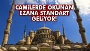 Camilerde Ezan ve salalar daha güzel okunacak