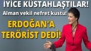 Alman vekilden nefret dolu Erdoğan sözleri