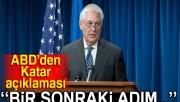 ABD'den kritik Katar açıklaması