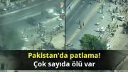 Pakistan'da patlama: 2 ölü, 19 yaralı