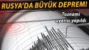 Rusya'da 7.8'lik deprem!