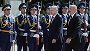 Erdoğan, Şuşa'da resmî törenle karşılandı