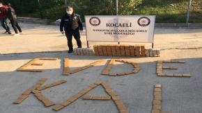 Kocaeli#039;de durdurulan TIR#039;dan 155 kilo eroin çıktı!